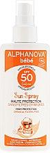 Parfumuri și produse cosmetice Spray protecție solară pentru copii SPF 50+ - Alphanova Baby Sun Protection Spray SPF 50