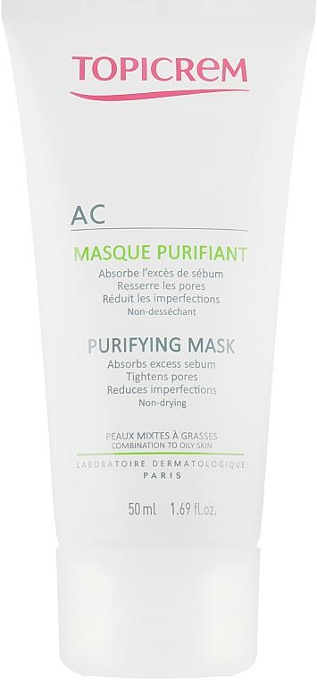 Очищающая маска для жирной и комбинированной кожи - Topicrem AC Purifying Mask — фото N2