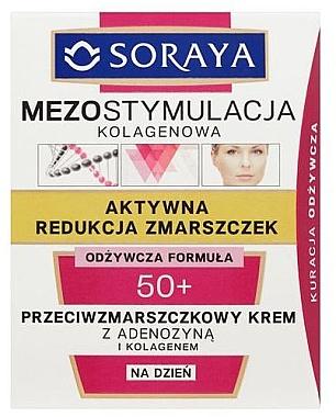 Cremă de zi pentru față - Soraya Mesostimulation Day Cream 50+ — Imagine N1