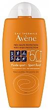 Parfumuri și produse cosmetice Fluid cu protecție solară - Avene Solaire Fluide Sport SPF 50+
