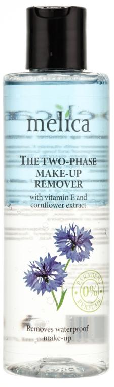 Soluție cu vitamina E și extract de vanilie pentru îndepărtarea machiajului - Melica Organic The Two Phase Make-Up Remover