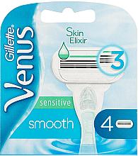 Parfumuri și produse cosmetice Casete de rezervă pentru aparat de ras - Gillette Venus Smooth Sensitive