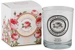 Parfumuri și produse cosmetice Panier Des Sens Rose - Lumânare aromatică