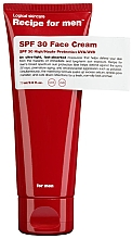 Parfumuri și produse cosmetice Cremă hidratantă de protecție solară pentru față - Recipe For Men Facial Moisturizer SPF 30