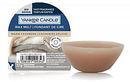 Parfumuri și produse cosmetice Ceară aromatică - Yankee Candle Wax Melt Warm Cashmere