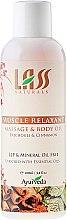 """Parfumuri și produse cosmetice Ulei pentru masaj """"Relaxare musculară"""" - Lass Naturals Muscle Relaxant Massage Oil"""