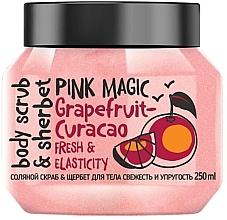 """Parfumuri și produse cosmetice Scrub cu sare pentru corp """"Prospețime și fermitate"""" - MonoLove Bio Fresh&Elasticity Body Scrub"""
