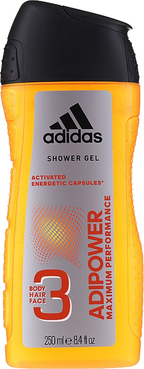 Set - Adidas Adipower Men (deo/150ml +sh/gel/250ml) — Imagine N3