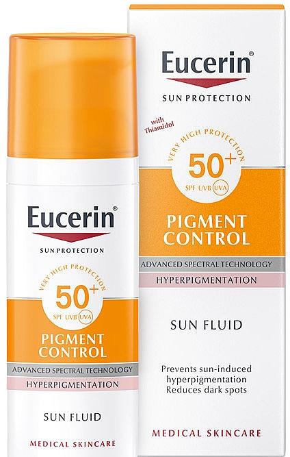 Fluid facial anti-hiperpigmentare - Eucerin Sun Protection Pigment Control SPF50+