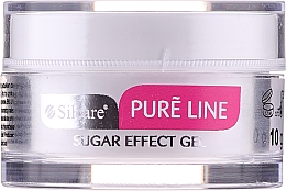 Parfumuri și produse cosmetice Gel pentru unghii - Silcare Pure Line Sugar Effect