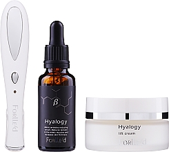 Parfumuri și produse cosmetice Zestaw - Forlle'd Smart Face Care (f/cr/50g + f/ser/30ml + beauty device/1pc)