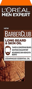 Ulei pentru barbă și față - L'Oreal Paris Men Expert Barber Club Long Beard + Skin Oil