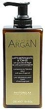 Parfumuri și produse cosmetice Lapte demachiant - Phytorelax Laboratories Olio di Argan Cleansing&Toning Milk