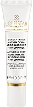 Parfumuri și produse cosmetice Концентрат против пигментных пятен - Collistar Anti-Dark Spot Concentrate Glycolic Acid/Niacinamide (тестер)