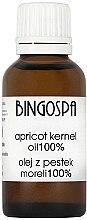 Parfumuri și produse cosmetice Ulei de caise 100% - BingoSpa
