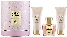 Parfumuri și produse cosmetice Acqua di Parma Rosa Nobile - Set (edp 100 ml + b/gel 75ml + b/cr 75ml)