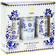 Parfumuri și produse cosmetice Set - Natura Siberica Gzel Beauty Kit (h/sh/250ml + h/balm/250ml + b/scr/200ml)