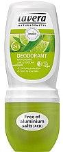 "Parfumuri și produse cosmetice Deodorant roll-on ""Verbena și lime"" - Lavera 24h Deodorant"