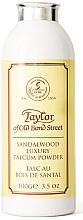Parfumuri și produse cosmetice Taylor of Old Bond Street Sandalwood Luxury Talcum Powder - Pudră de talc