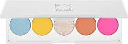 Parfumuri și produse cosmetice Paletă fard de ochi - Ofra Signature Palette Beachside