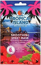 Parfumuri și produse cosmetice Mască de față - Marion Tropical Island Bali Paradise Smoothing Sheet Mask