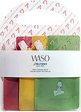 Parfumuri și produse cosmetice Set - Shiseido Waso Reset Cleanser (clansing/gel/3x70ml)