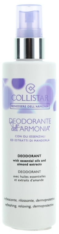 "Deodorant-spray de corp ""Armonie"" - Collistar Benessere Dell'Armonia Deodorant — Imagine N1"