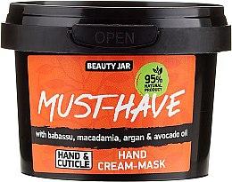 Parfumuri și produse cosmetice Cremă-mască pentru mâini - Beauty Jar Must-Have Hand Cream-Mask