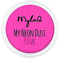 Parfumuri și produse cosmetice Pudră pentru unghii - MylaQ My Neon Dust