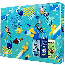 Parfumuri și produse cosmetice PROMOȚIE Set cadou pentru băieți - Fa Kids Pirate (sh/gel/250ml + shmp/250ml + t/past/50ml)