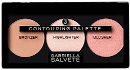 Parfumuri și produse cosmetice Gabriella Salvete Contouring Palette - Paleta pentru contur facial