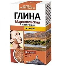 Parfumuri și produse cosmetice Argilă roșie marocană, pentru față și corp - FitoKosmetik
