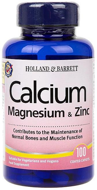 Calciu, magneziu și zinc - Holland & Barrett Calcium Magnesium & Zinc