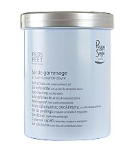 Parfumuri și produse cosmetice Scrub-sare cu ulei de migdale dulci pentru picioare - Peggy Sage Salt Scrub