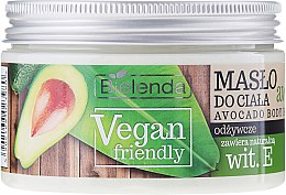 "Духи, Парфюмерия, косметика Масло для тела ""Авокадо"" - Bielenda Vegan Friendly Avocado Body Butter"