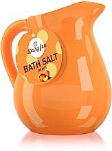 Parfumuri și produse cosmetice Sare de baie, piersică - Delia Dairy Fun Bath Salt