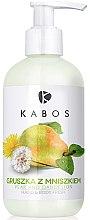 """Parfumuri și produse cosmetice Balsam pentru mâini și corp """"Pară cu păpădie"""" - Kabos Hand & Body Balm"""