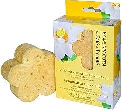 """Parfumuri și produse cosmetice Burete exfoliant 2în1 """"Hidratant"""" pentru piele sensibilă - Le Cafe de Beaute Sponge"""