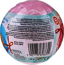 """Bombă efervescentă de baie """"Dino"""", cu surpriză, roz - Chlapu Chlap — Imagine N2"""