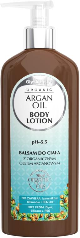 Balsam de corp cu ulei de argan - GlySkinCare Argan Oil Body Lotion — Imagine N1