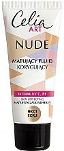 Parfumuri și produse cosmetice Fond de ten matifiant - Celia Nude Mattifying Foundation