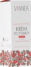 Parfumuri și produse cosmetice Крем для лица против морщин ночной - Vianek