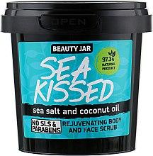 """Parfumuri și produse cosmetice Scrub pentru față și corp """"Sea Kissed"""" - Beauty Jar Rejuvenating Body And Face Scrub"""