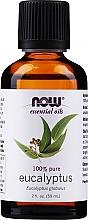 "Parfumuri și produse cosmetice Ulei esesnțial ""Eucalipt"" - Now Foods Eucalyptus Essential Oils"