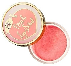 Parfumuri și produse cosmetice Scrub pentru buze - Too Faced Peaches & Cream Lip Scrub