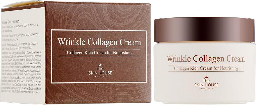 Cremă nutritivă antirid cu colagen - The Skin House Wrinkle Collagen Cream