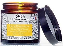 """Parfumuri și produse cosmetice Lumânare parfumată """"Citronella"""" - Le Chatelard 1802 Citronella Essential Oil Scented Candle"""