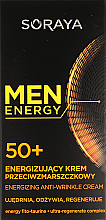 "Parfumuri și produse cosmetice Cremă antirid ""Nutriție și regenerare"" 50+ - Soraya Men Energy"