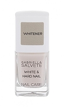 Parfumuri și produse cosmetice Primer pentru unghi - Gabriella Salvete Nail Care White & Hard