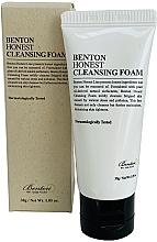Parfumuri și produse cosmetice Spumă de curățare pentru față - Benton Honest Cleansing Foam (mini)